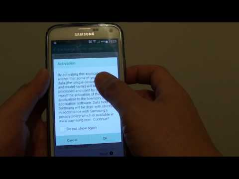 Samsung Galaxy S5: How to Add and Sync Outlook Exchange Email / Calendar / Events