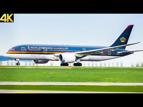 [4K] Planespotting in Paris CDG airport with 787, A350, 777, A330