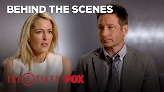 Case Files: David Duchovny and Gillian Anderson Talk Series Changes | Season 10 Ep. 6 | THE X-FILES