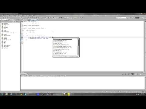 Java 2D Graphics - Drawing Strings: Episode 2