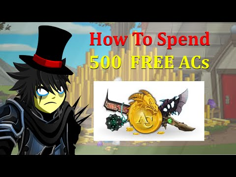 What To Spend Your ACs in AQW