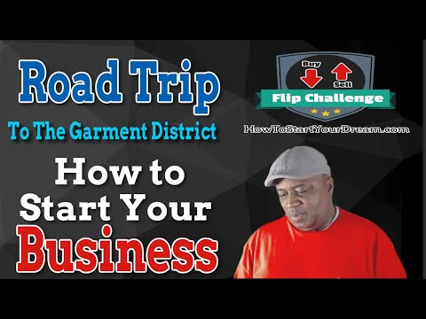 Road Trip to show how to start your Flip Business Challenge
