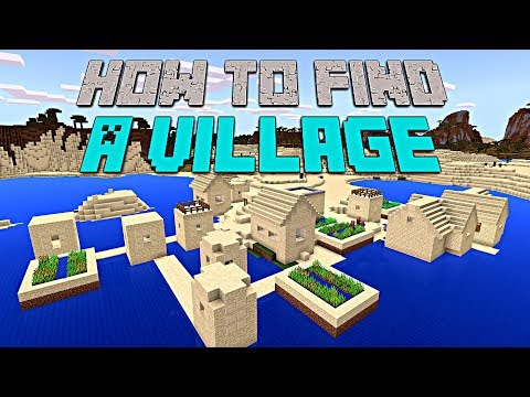 How to Find A village in Minecraft PE! (BEST METHOD)