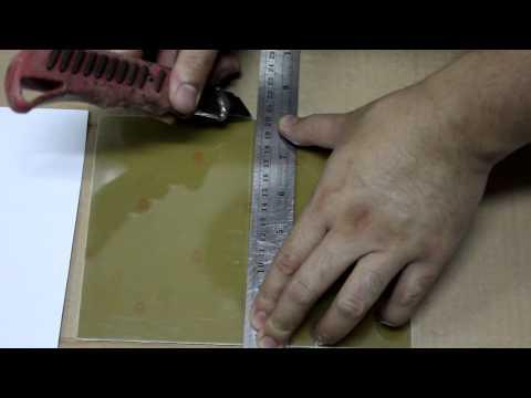 Cutting PCB simple