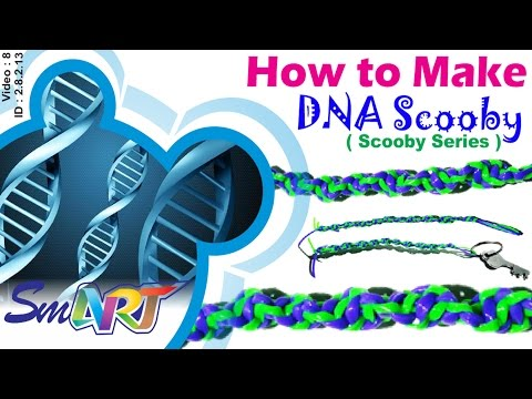 How to make DNA Scooby | Spiral Scooby