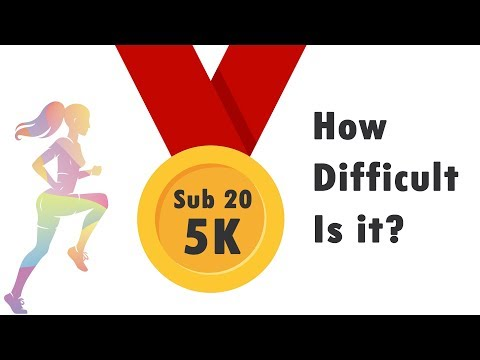 The Truth about how hard it is to run a sub20min 5k (aka nonsense from Durianrider)