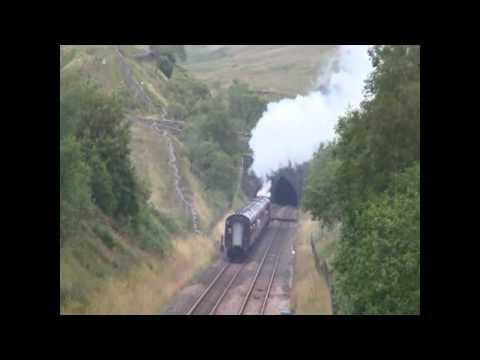 BR Black 5 No.45305 - The Mersey Moorlander - Blea Moor & Shap Summit - 06/08/12