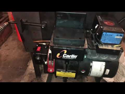 Fixing a Carlin burner that won't prime