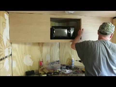 box trailer camper build part 11