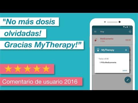 Recordatorio de medicamentos MyTherapy