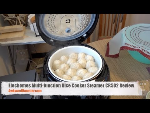 Elechomes Multi function Rice Cooker Steamer CR502 Review