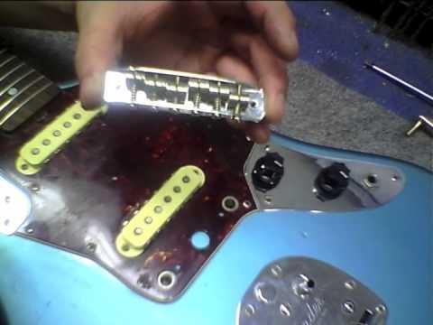 FPE-TV How to Fix Fender Jaguar & Jazzmaster Bridge Problems