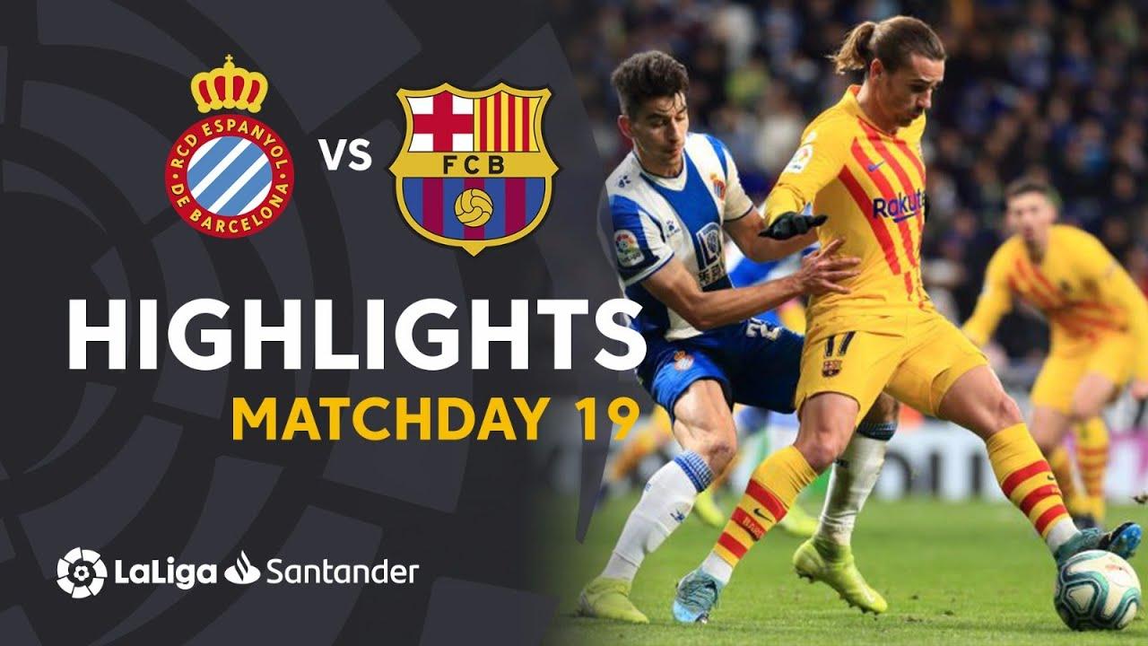 Highlights RCD Espanyol vs FC Barcelona (2-2)
