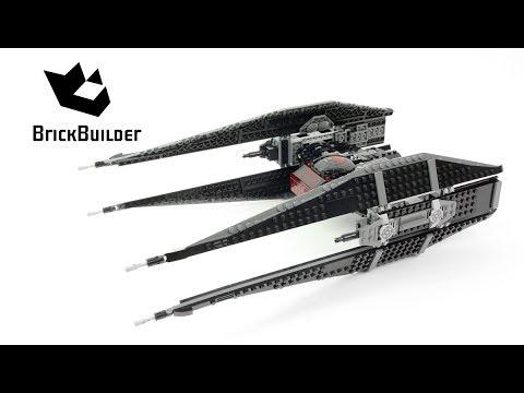 Lego Star Wars 75179 Kylo Ren's TIE Fighter - Lego Speed Build