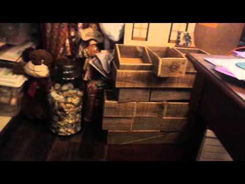Sewing machine drawer repurpose