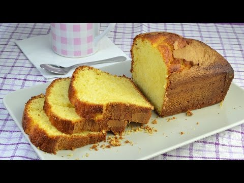 Lemon Yogurt Cake - Easy Homemade Yogurt Cake Recipe
