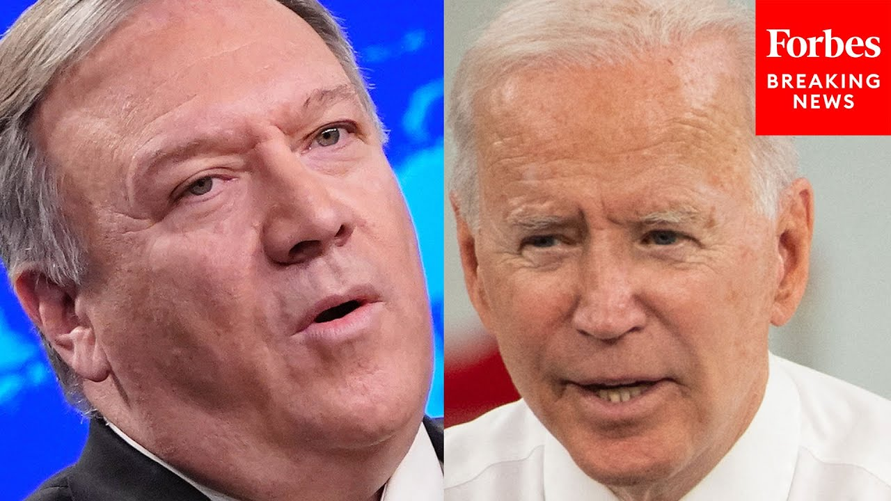 'It's Weakness And Weakness Begets War': Pompeo Decries Biden Foreign Policy