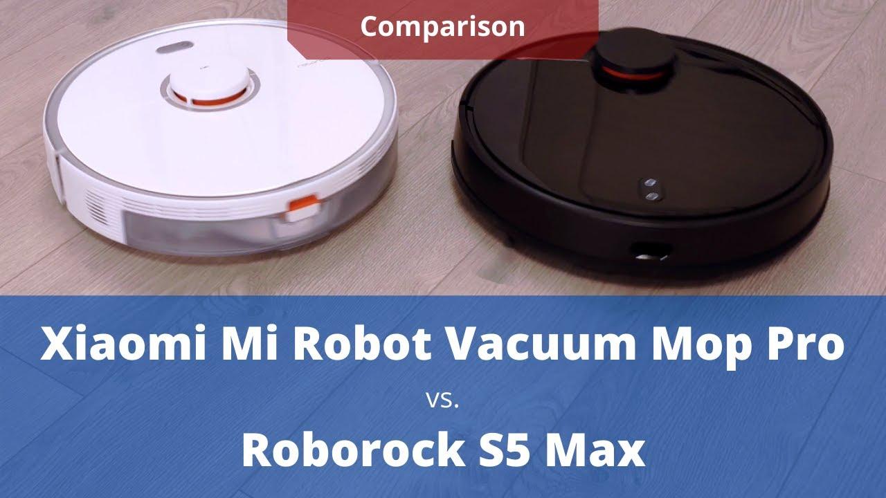 Roborock S5 Max vs. Xiaomi Mi Robot Vacuum Mop P Detailed Comparison