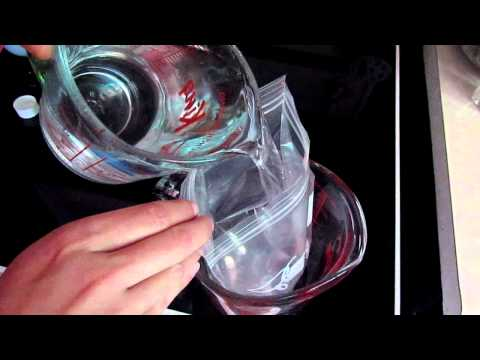 DIY first aid ice pack