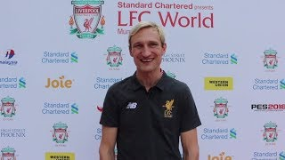Sami Hyypia's candid chat!
