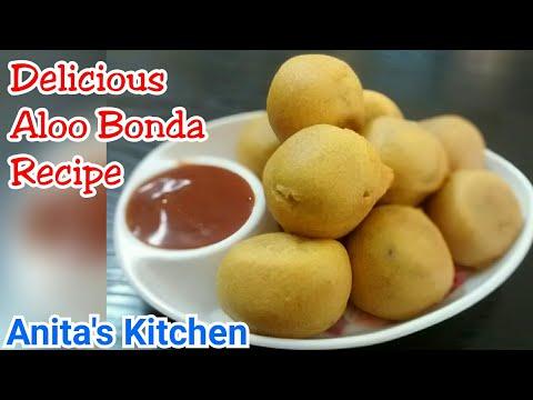 Aloo Bonda Recipe   How to make Aloo Bonda recipe   Tasty Evening snack   Aloo vada recipe