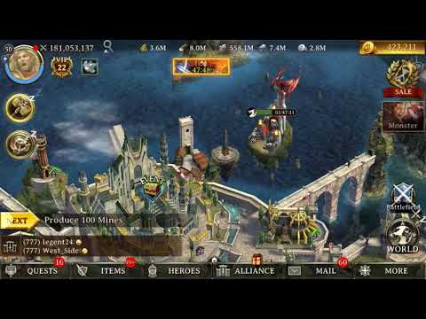 KoA vs Iron Throne Fight! Survey Go fast!