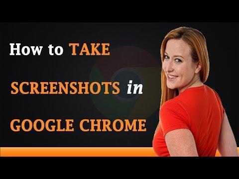 How to Take Screenshots in Google Chrome