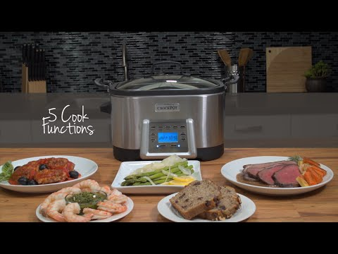 5-in-1 Multi-Cooker | Crock-Pot®