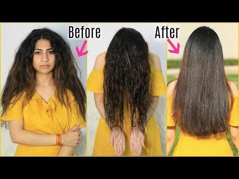 Use THIS to get Silky & Shiny Hair INSTANTLY - रूखे बेजान कमजोर बालों से पाएं छुटकारा | Anaysa