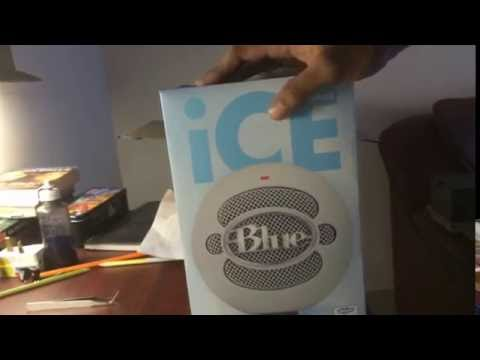 Blue Snowball Ice + NEEWER Microphone Stand | Unboxing