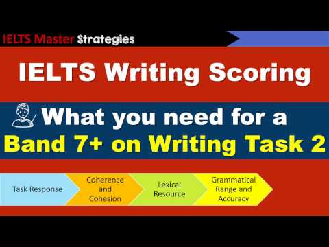 IELTS Writing Task 2 Scoring - What you need for a Band 7+ score