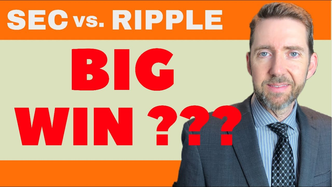Attorney Jeremy Hogan Talks BIG WIN for Ripple in the SEC v. Ripple / XRP Lawsuit at Hearing Today.