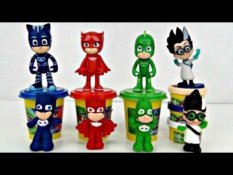 PJ MASKS Softee Dough Mold n Play 3D Figure Maker & Kids Craft