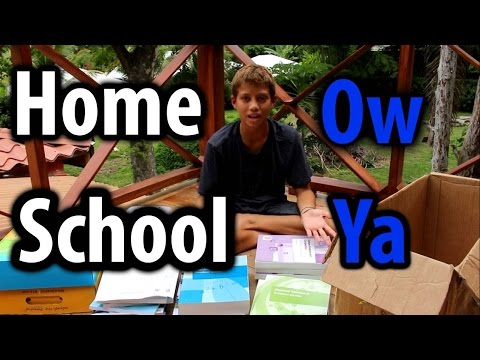 My Awesome Home School, K12 review & Unboxing- Kid Prepper