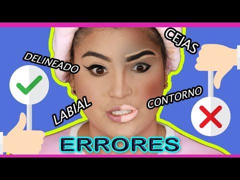 ERRORES DEL MAQUILLAJE  COMUNES  (Horrores y Aciertos) - Roccibella