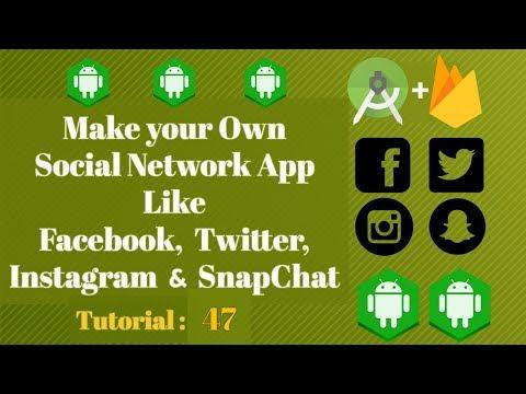 Android Social App - Android Studio Tutorial 47 - Firebase Social App - Retrieve user Information