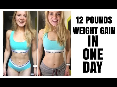 Gained 12 Pounds IN ONE DAY | Gaining Weight VS Gaining Fat