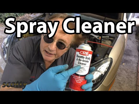 Make Your Car Run Better with a Little Spray Cleaner