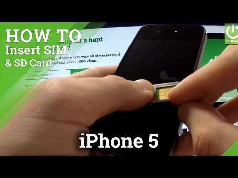 How to check the IMEI Number in APPLE iPhone 5 - Card Slot Method