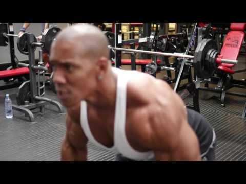 Monster Back and Shoulders session