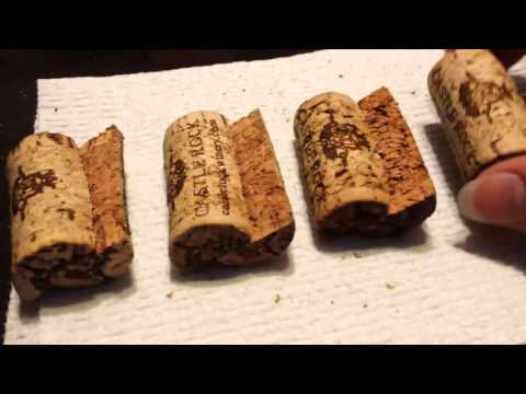 DIY Wine Cork Coasters