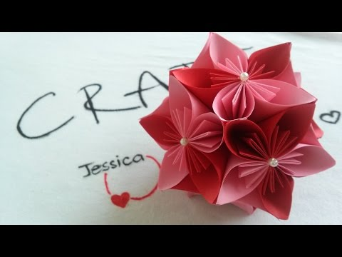 Origami Easy - Origami Cherry Flower Ball