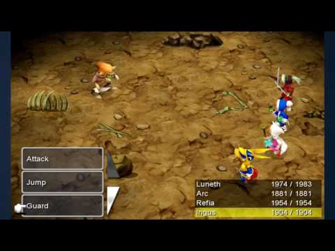 Final Fantasy III: How to level up your Job Level quickly [Tutorial]