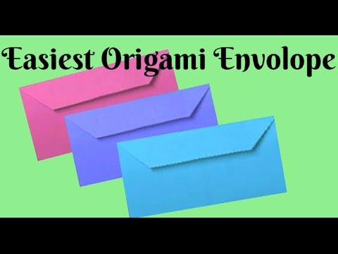 Easiest Gift Envelope Cover👍DIY Paper Crafts