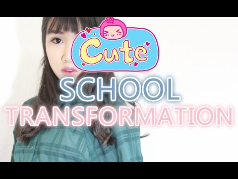 Impress your crush? Makeover? CUTE SCHOOL MAKEOVER