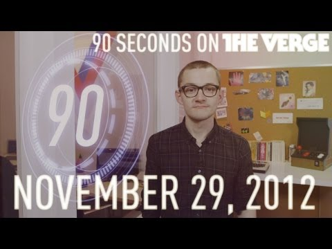 iTunes 11, Surface Pro, and more - 90 Seconds on The Verge: Thursday, November 29, 2012