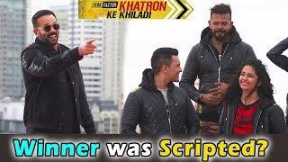 खतरों के खिलाड़ी में रोहित शेठी का खुलासा । Rohit Shetty Accidentally said Bigg Boss was Scripted