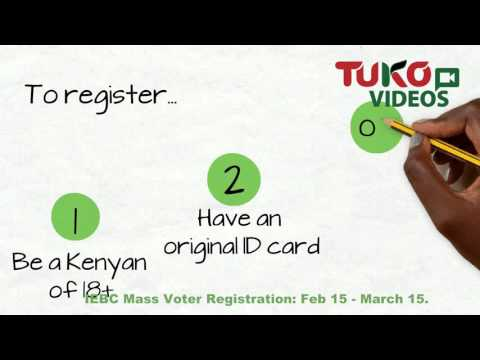 Voter registration requirements