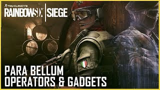 Rainbow Six Siege: Para Bellum Operators Gameplay and Gadget Starter Tips | UbiBlog | Ubisoft [NA]