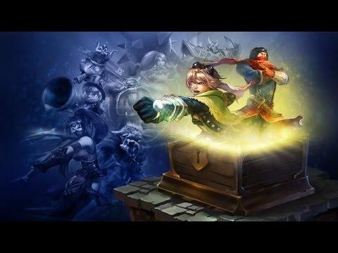 League of Legends | 5 mystery skin unboxing | Kha'zix, Ashe, Alistar, Nasus and Zombie Ryze !